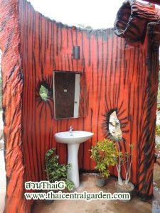ห้องน้ำสวนThaiG